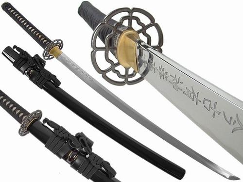 KL002 Schwert mit Japanische Schriftzeichen