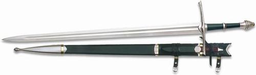 F039 Hoge kwaliteit Lord of the Rings het zwaard van Aragorn