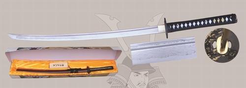 D000 Damast Schwert Rot