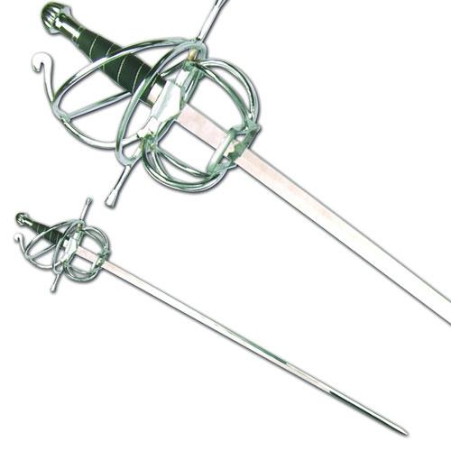 E401 Korbrapier Schwert Schaukampf