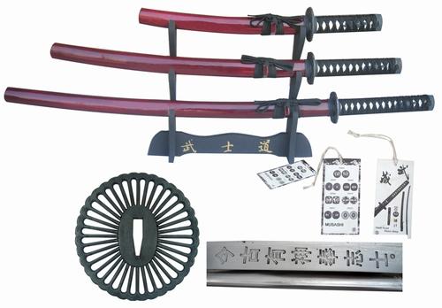 Set001 Schaukampf Last samurai Film Schwerter set