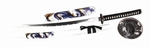RV006 Weiß/blau Drachen Schwert