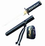T001 Krieg Tanto Messer schwarz