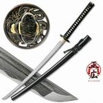 D002 Damast Drachen Schwert